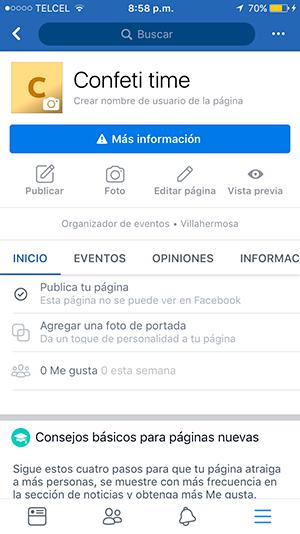 Cómo transmitir en vivo por Facebook paso 1 inicia sesión