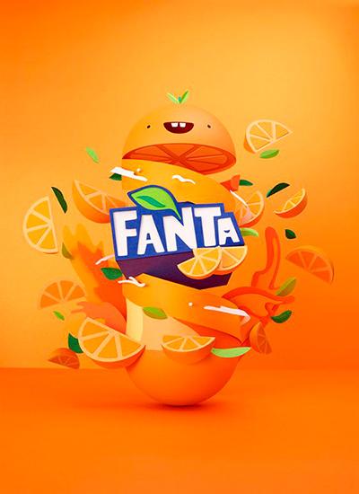 Ejemplo Psicología del color naranja