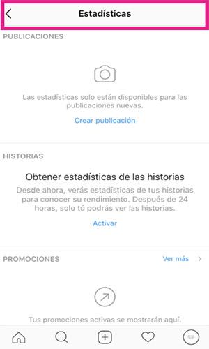 Instagram te muestra las estadísticas de tus historias