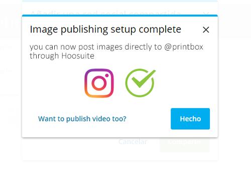 Guía para programar instagram en hootsuite