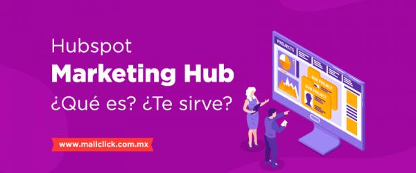 Portada de artículo qué es marketing hub de hubspot