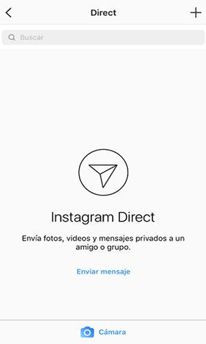 Herramienta de instagram para empresa, mensajes directos