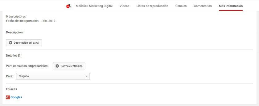SEO youtube cambiar pais canal youtube geolocalizacion