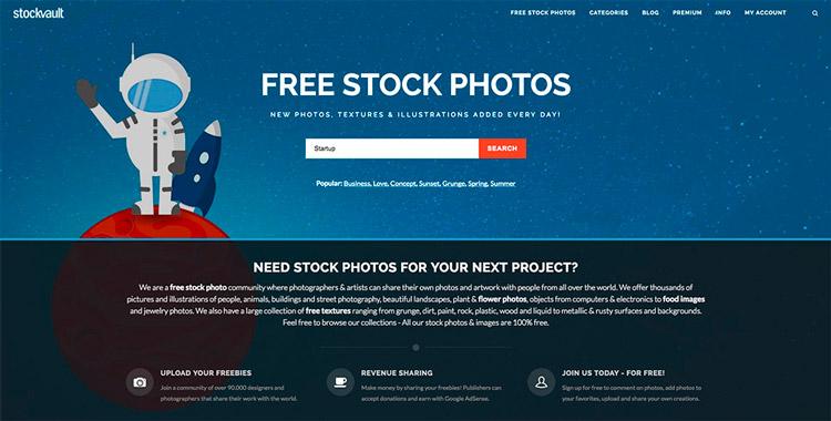 Banco de imágenes stockvault