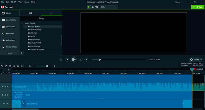 Cómo hacer un video de portada para Facebook: reduce la duración del clip