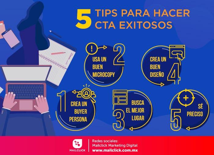 5 tipos para hacer CTA exitosos