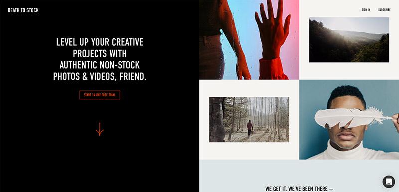 Banco de fotos Death to Stock Photos