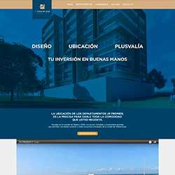 Thumbnail del diseño web de JR Premier
