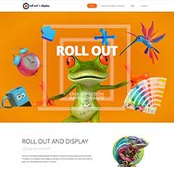 Diseño y desarrollo de sitio web para Rollout