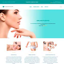 Miniatura del diseño de la página web del Dr. Montealegre