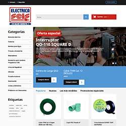 Desarrollo de ecommerce para Eléctrica Seis thumbnail