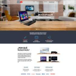 Diseño web realizado para la empresa IMSG