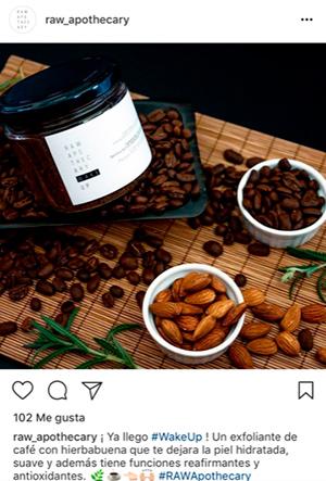 Ejemplo psicología del color café