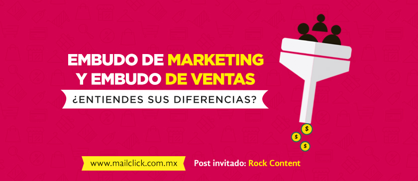 Embudo de marketing y embudo de ventas, ¿conoces sus diferencias?