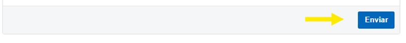 Captura de pantalla de botón enviar para verificar una página de Facebook
