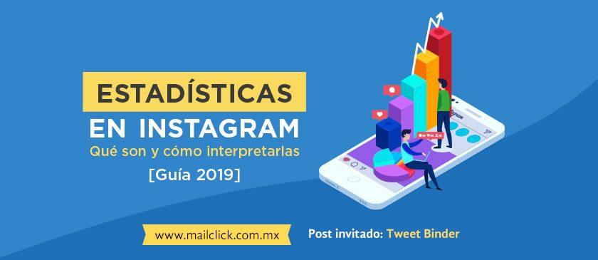 Estadísticas en Instagram guía 2019