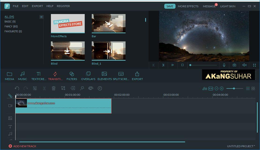 Captura de pantalla de Filmora Scrn