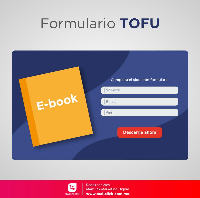 Ejemplo de un formulario TOFU
