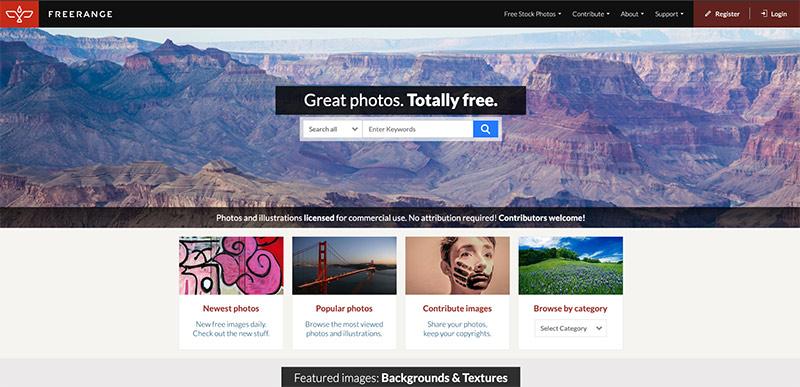 banco de fotos de stock Free Range