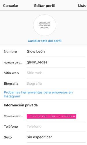 En la imagen se muestra como empezar a usar las herramientas para empresas de Instagram