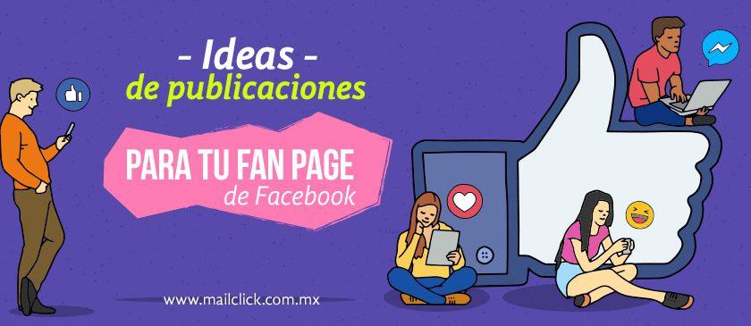 Imagen representativa de usuarios interactuando con ideas de publicaciones para tu fan page de Facebook