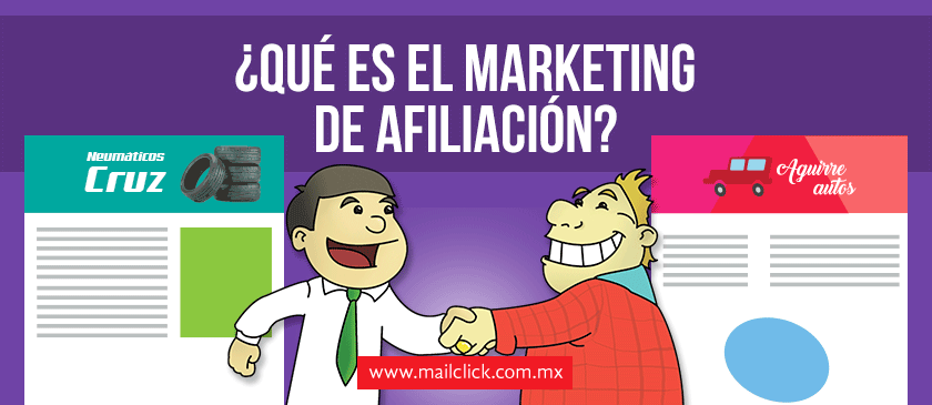 Marketing de afiliados o afiliación