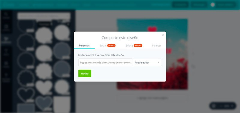 Paso 6-1: Comparte tu diseño de Canva en redes sociales