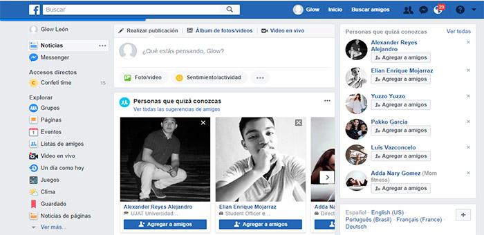 paso1 para transmitir en vivo por facebook en pc
