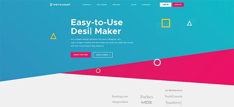 Piktochart: uno de los programas para crear infografías