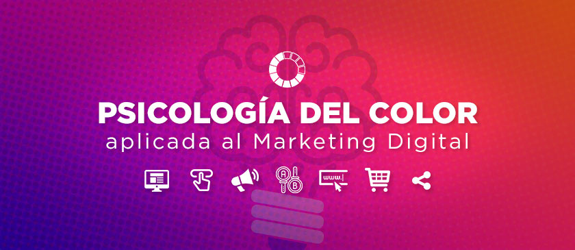 Psicología del color aplicada al Marketing Digital