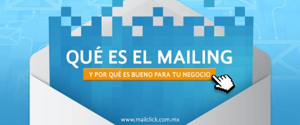 Sobre con contenido digital representando qué es el mailing