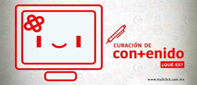 Ilustración de curación de contenidos