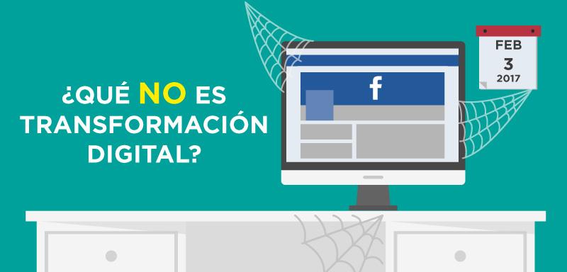 Qué no es la transformación digital